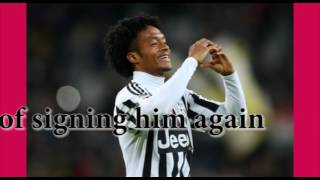 Juventus make final assault on Cuadrado