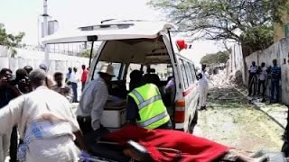 Raw: Somalia Bombing Near Presidential Palace