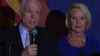 Senator John McCain Wins Arizona Senate Primary