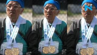 100-year-old Indian runner defies age; wins a gold at Masters Games