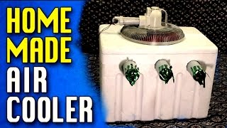 How To Making Homemade Air conditioner Easy At Home