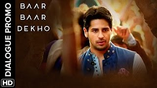 Sidharth isn't sure about the icing (Snow) on the wedding | Baar Baar Dekho | Dialogue Promo