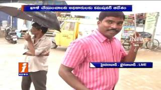 Heavy Rains In Hyderabad Khairatabad People Face Huge Problem With Flood Water iNews