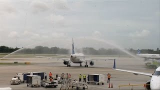 Maiden commercial flight from US to Cuba takes off