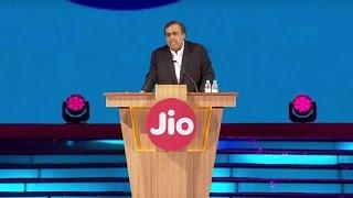 Reliance jio announcements mukesh ambani live