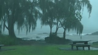 Hawaii Residents Prepare for Approaching Storms
