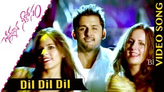 Dil Dil Dil Video Song Chinnadana Neekosam Songs Nithin, Mishti Chakraborty