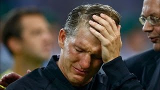 Bastian Schweinsteiger Cries In His Final Game For Germany