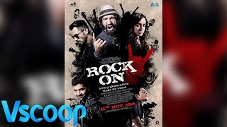 Rock On 2 First Official Poster Farhan Akhtar, Arjun Rampal, Shraddha Kapoor #VSCOOP