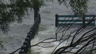 Raw: Hurricane Hermine Moves Closer to Florida