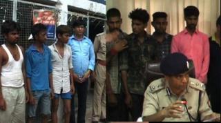 प्रदेश पुलिस को मिली बड़ी सफलता, 11 लोग गिरफ्तार