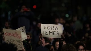 Rousseff supporters rally in Sao Paulo