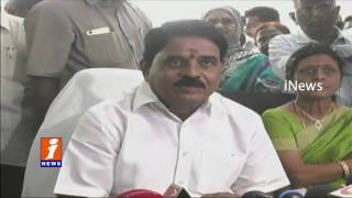 Palle Raghunatha Reddy Launches his Chamber in AP Temporary Secretariat | Velagapudi | iNews