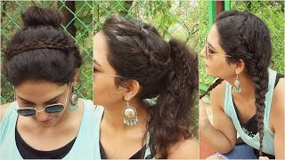 SIMPLE 2 Minute Curly Hairstyles Back To School Knot Me Pretty