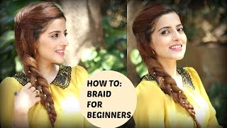 How To: Braid Your Own Hair For Beginners Easy Braid Tutorial | Knot me Pretty