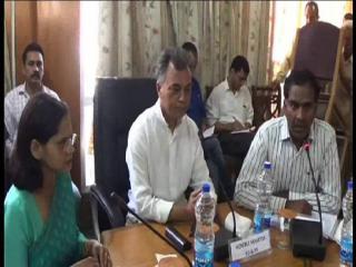 अनिल शर्मा ने की ग्रामीण विकास स्कीमों की समीक्षा