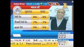 Siddharth Birla interaction with ZeeBusiness on first bi-monthly Monetary Policy Review