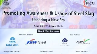 Promoting use of Steel Slag in Indian infrastructure development