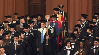 Dr A Didar Singh received Honorary Doctorate from University of Birmingham