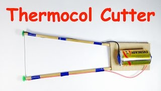 HOW TO MAKE THERMOCOL CUTTER AT HOME