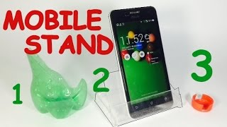 How to Make MOBILE STAND at Home - AMAZING - MUST WATCH