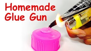 How to make HOT GLUE GUN at Home - DIY - EASY