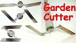 How to Make a GARDEN CUTTER at HOME - GARDENING TOOL
