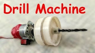 How to make a DRILL MACHINE at Home - DIY