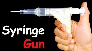 How to Make AIR GUN that Shoots - HomeMade Gun