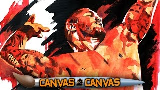 Randy Orton takes the canvas to Viperville: WWE Canvas 2 Canvas