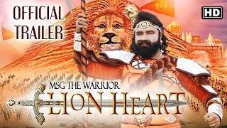 MSG The Warrior -  'LION HEART'  Official Trailer