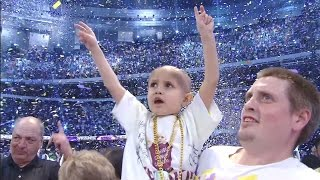 WWE continues to support Connor's Cure during Pediatric Cancer Awareness Month