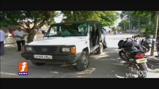 Robbery at Junior Civil Judge House in Miryalaguda | Nalgonda iNews