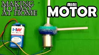 How to Make Mini Motor Pump At Home - Easy Way