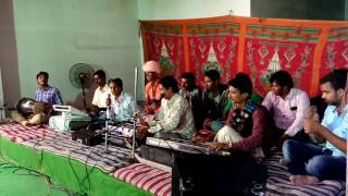 GANESH VANDNA HALO SANTHO KHETI BHAVO BHERARAM SENCHA BHAGAT BHAJAN MNDLI HYD