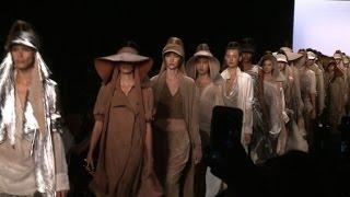 Desert-themed Nicholas K show kicks off New York Fashion Week