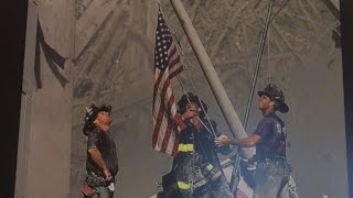 Iconic 9/11 flag returns to NYC after being missing for 15 years