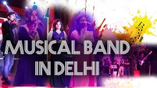Musical Band in Delhi Singer Pianist Mashup Performing Live Show at Air Force Auditorium