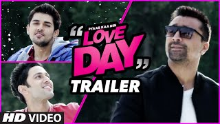 LOVE DAY - PYAAR KAA DIN Official Trailer 2016  jaz Khan Sahil Anand Harsh Naagar
