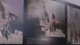 Lost Iconic 9/11 Flag Unveiled At Museum