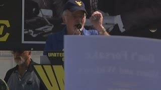 United Mine Workers Rally on Capitol Hill