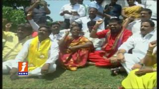 TDP MP Avanthi Srinivas Deeksha Over to Make Visakha Railway Zone   iNews