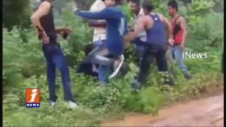 Chhattisgarh BJP leader Mantu Ram's son beats bikers iNews