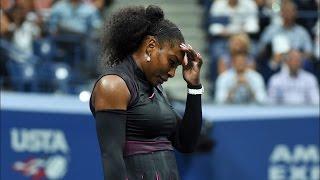 US Open 2016 - Semi-Finals - Serena Williams Crashes Out, Loses No.1 Ranking