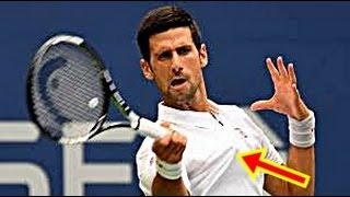 NOVAK DJOKOVIC VS Gael MONFILS US OPEN 2016 - 6-3, 6-2, 3-6, 6-2