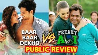 Salman's Freaky Ali Public Review V/S Katrina's Baar Baar Dekho Public Review