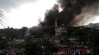 At least 25 dead in Bangladesh factory fire