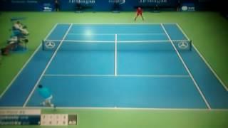 Stanislas Wawrinka Champion US Open 2016 Match Point Vs Novak Djokovic