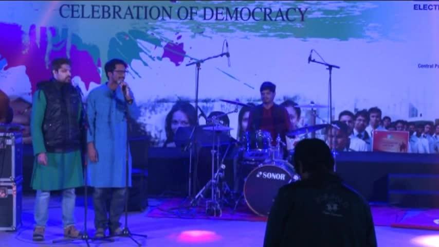 Matdaata Mahotsav - Madhup Mudgal Band Performance