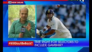 Gautam Gambhir impresses in Duleep Trophy; will Gambhir be prefered over Shikhar Dhawan